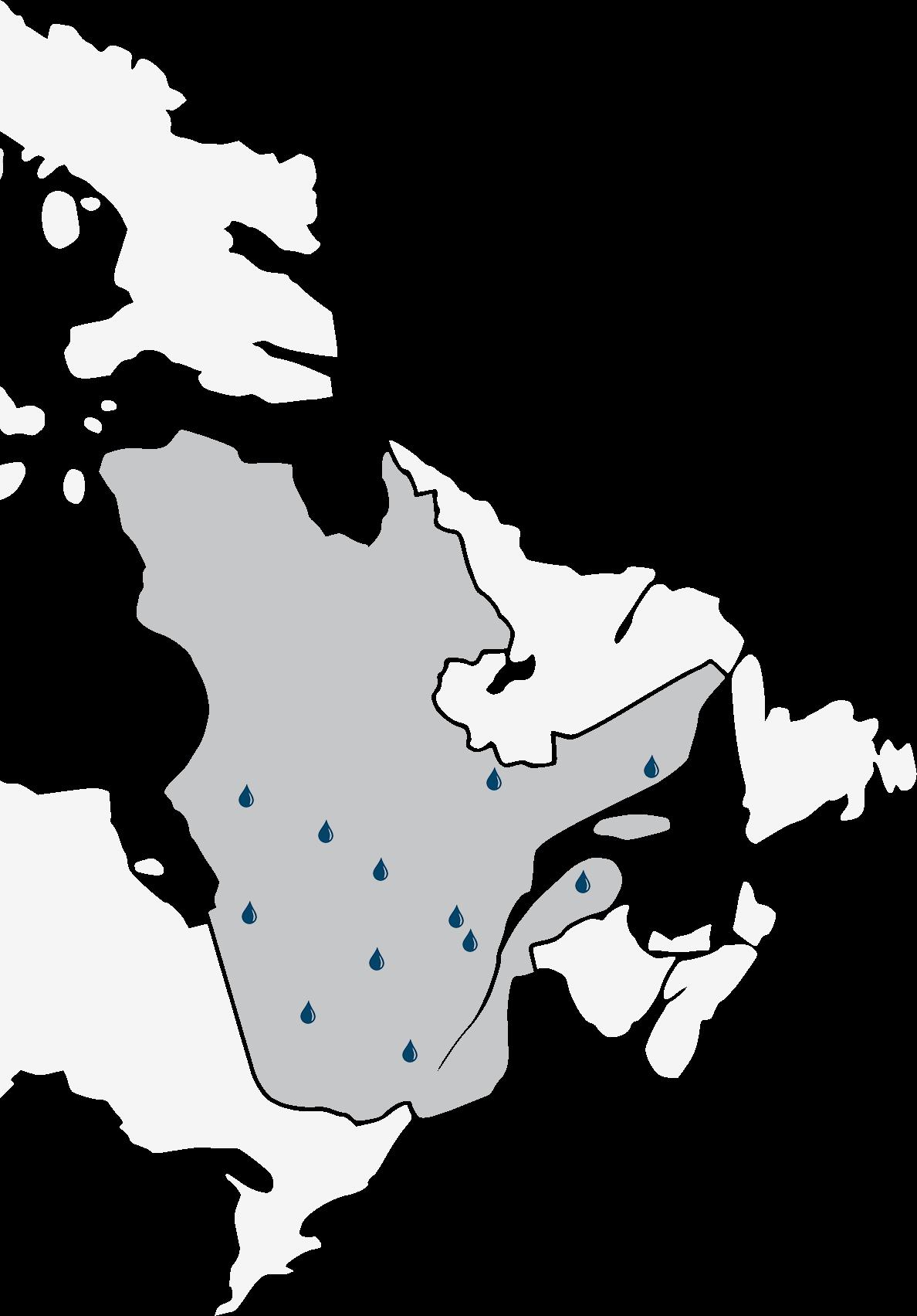 Présence de SIMO partout Québec